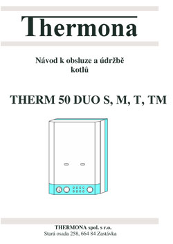 THERM DUO 50 S, M, T, TM