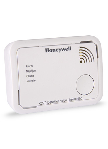 Detektor úniku CO Honeywell XC70-CS